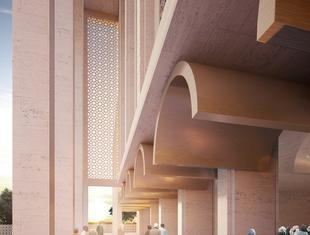 Rozbudowa największego meczetu Europy Zachodniej