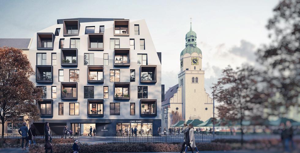 Rynek Wildecki 3 - nowy projekt Ultra Architects